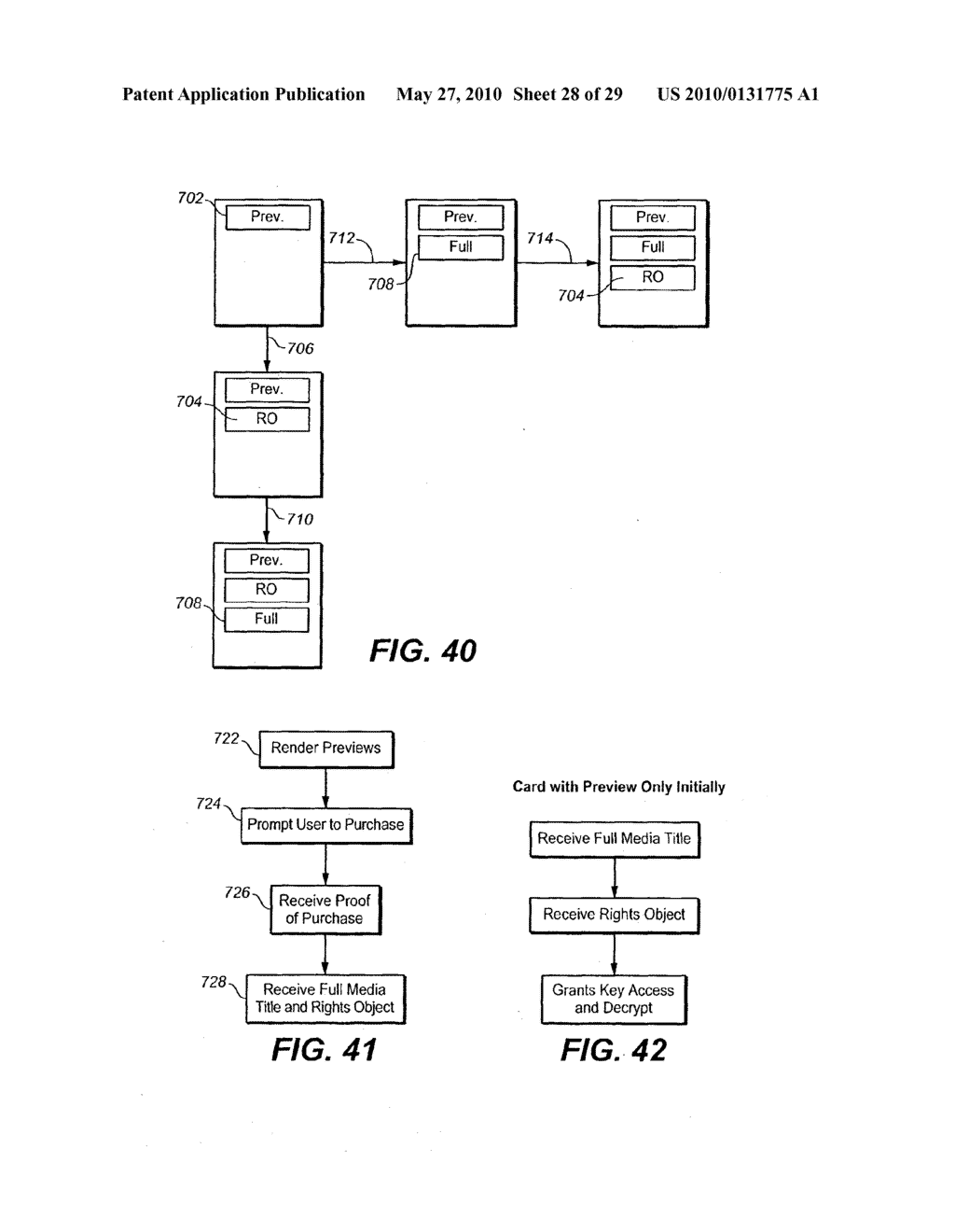 Method for Secure Storage and Delivery of Media Content - diagram, schematic, and image 29