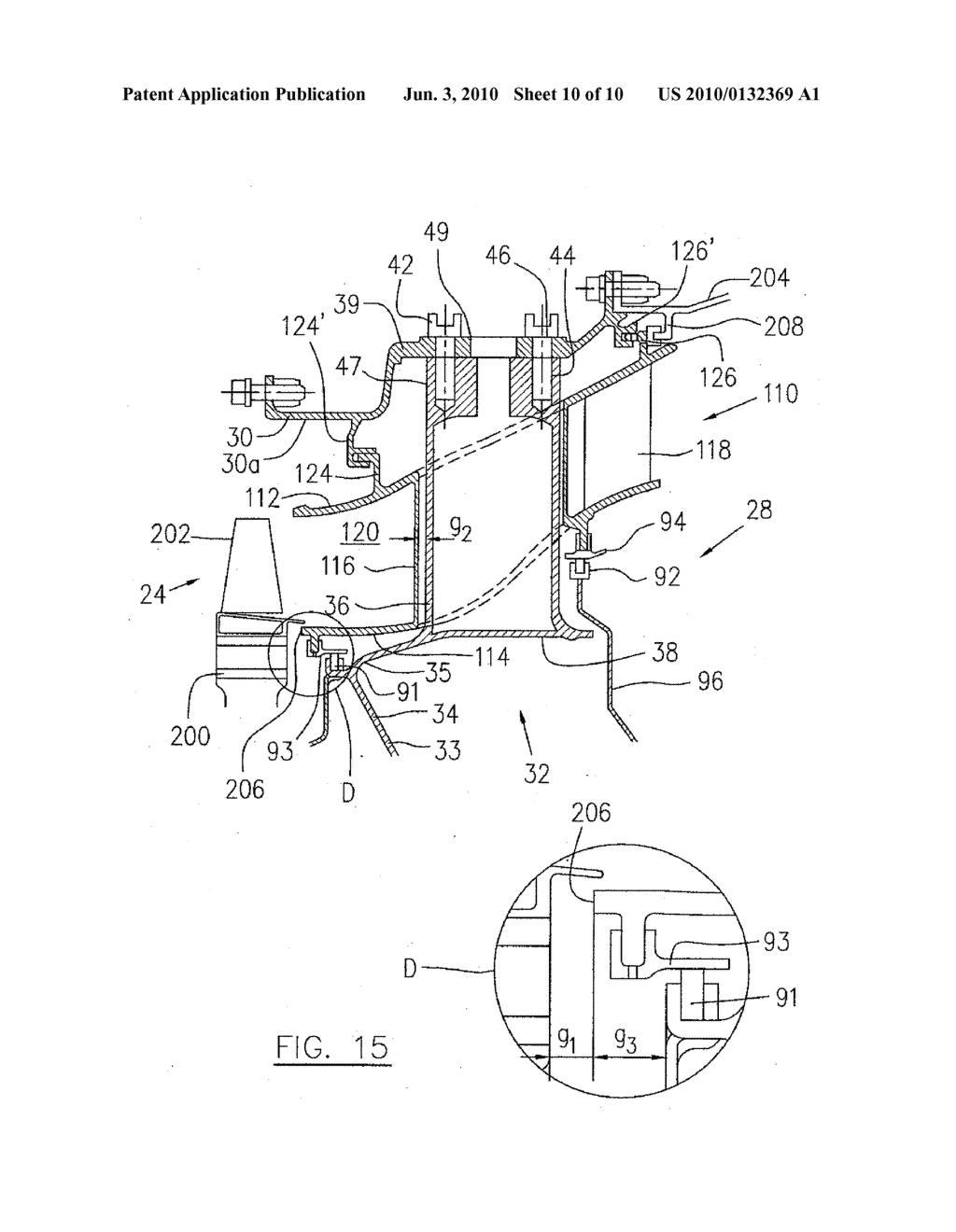 Mid Turbine Frame System For Gas Engine Diagram Schematic And Image 11