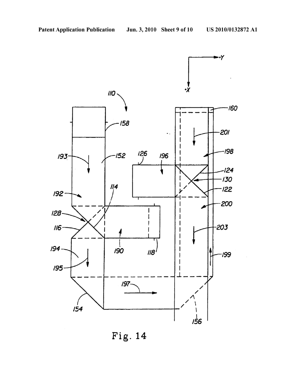 Method of Placing A Material Transversely on a Moving Web - diagram, schematic, and image 10