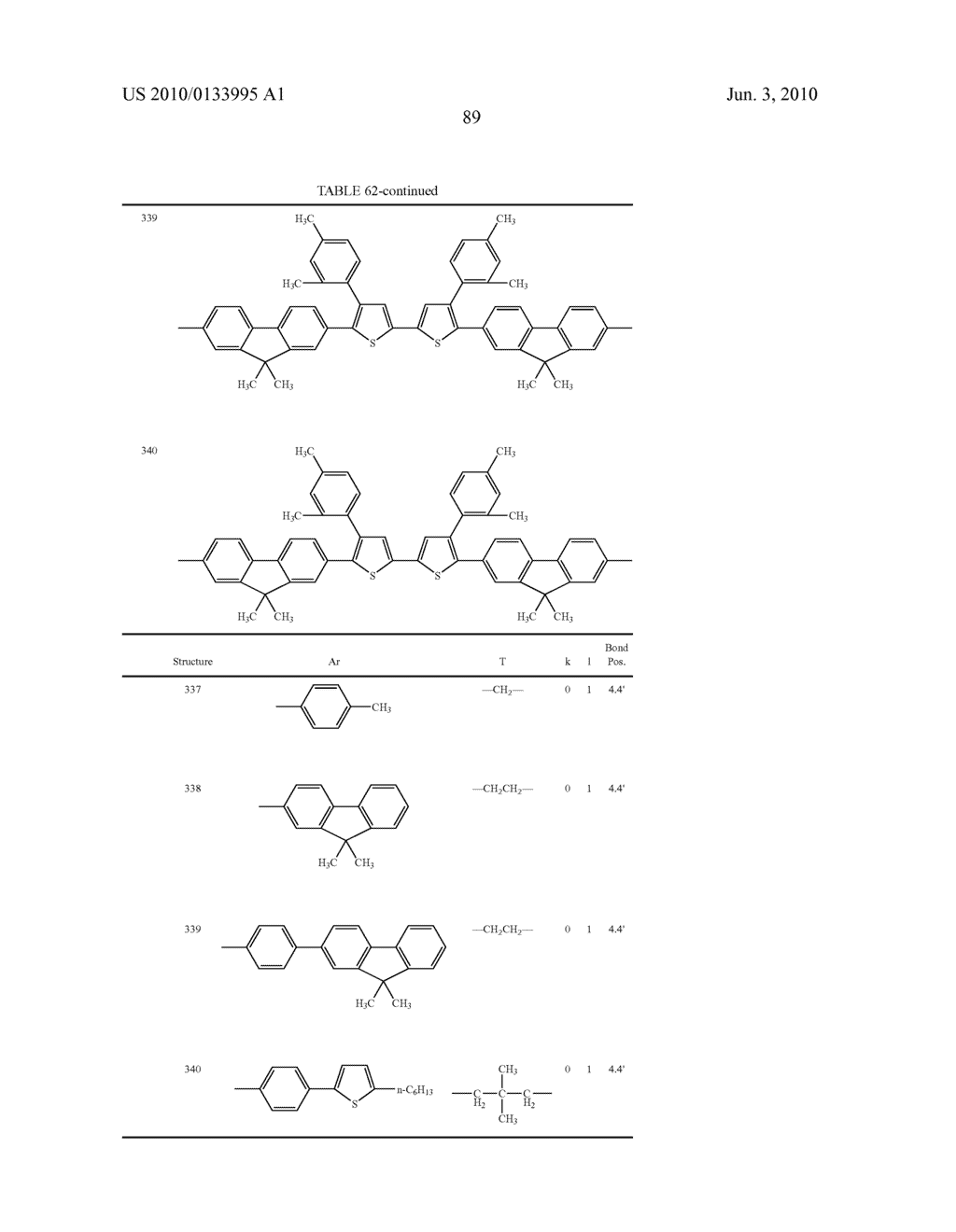 Novel thiophene-containing compound and thiophene-containing compound polymer, organic electroluminescent device, production method thereof, and image display medium - diagram, schematic, and image 100