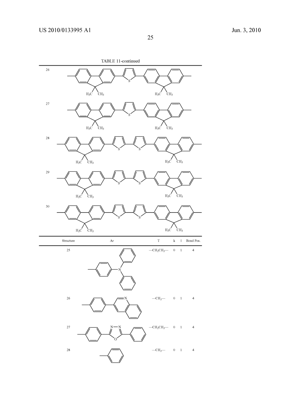 Novel thiophene-containing compound and thiophene-containing compound polymer, organic electroluminescent device, production method thereof, and image display medium - diagram, schematic, and image 36