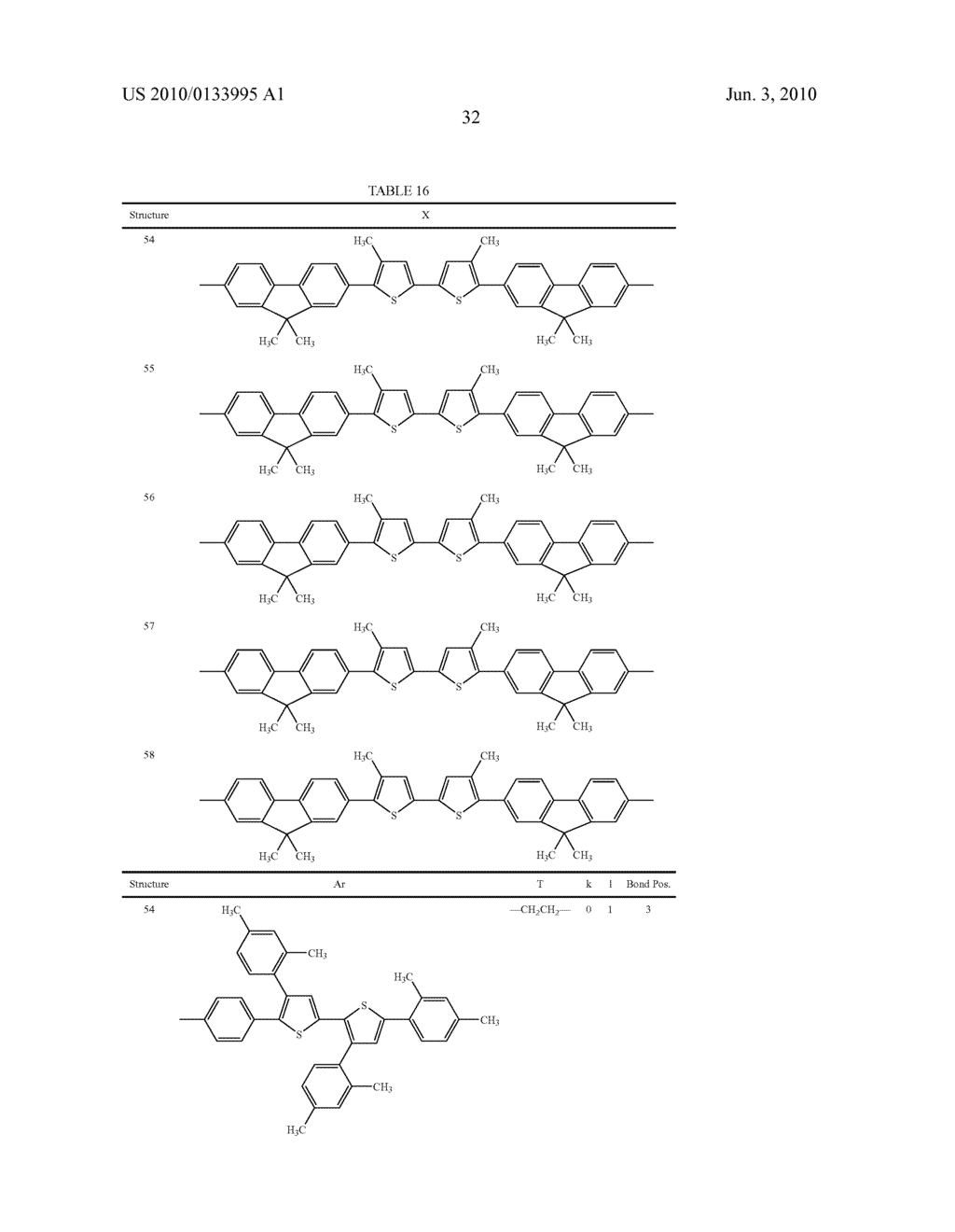 Novel thiophene-containing compound and thiophene-containing compound polymer, organic electroluminescent device, production method thereof, and image display medium - diagram, schematic, and image 43