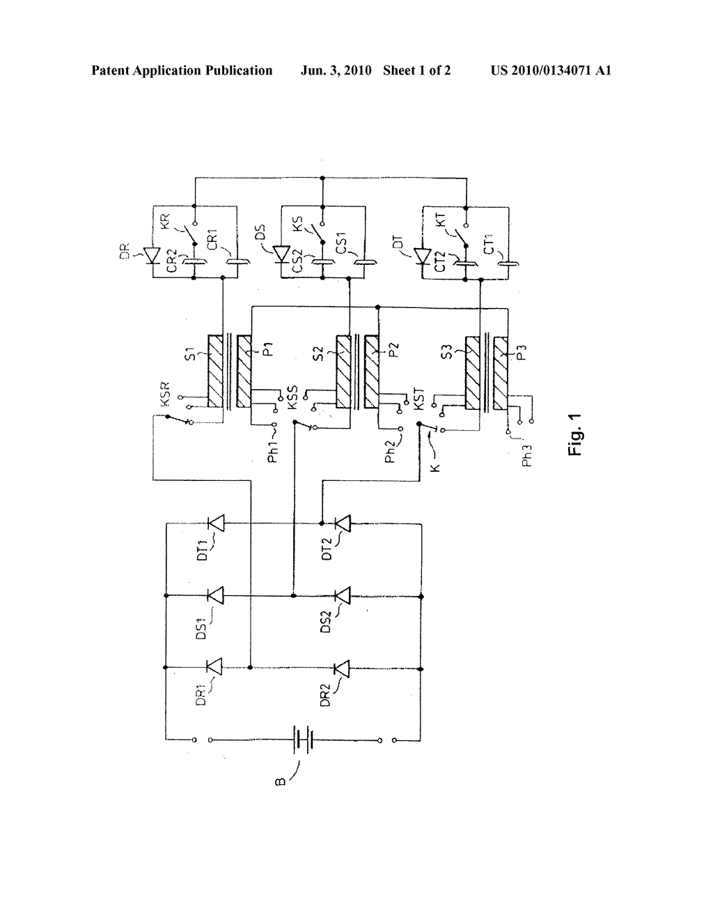 battery charger circuit operated from a three phase network rh patentsencyclopedia com