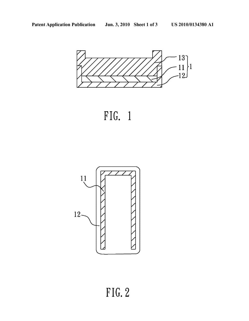 ANTENNA DEVICE AND METHOD OF MANUFACTURING THE SAME - diagram, schematic, and image 02