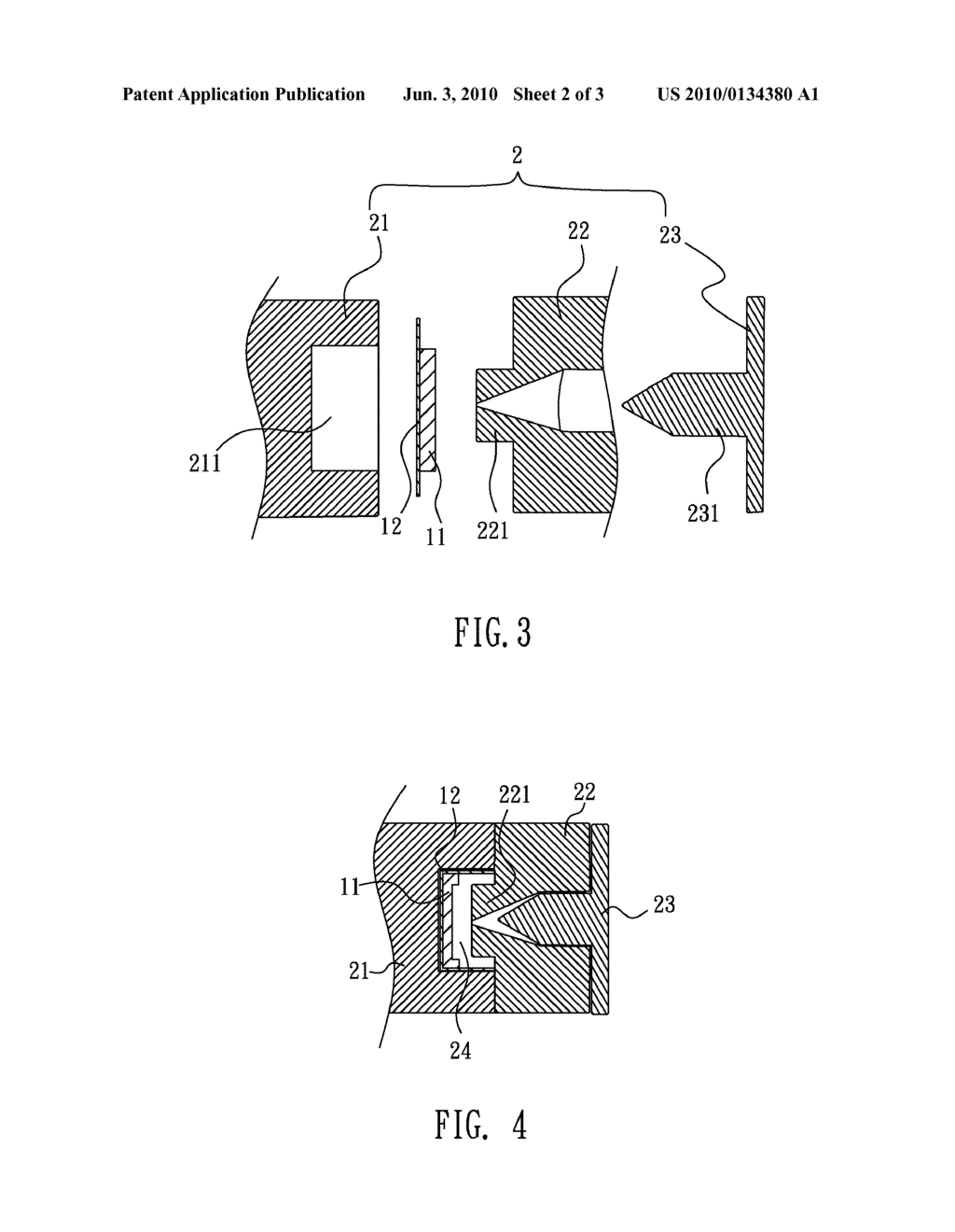 ANTENNA DEVICE AND METHOD OF MANUFACTURING THE SAME - diagram, schematic, and image 03