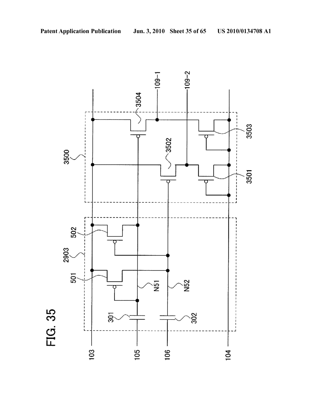 SEMICONDUCTOR DEVICE AND ELECTRONIC APPARATUS HAVING THE SAME - diagram, schematic, and image 36