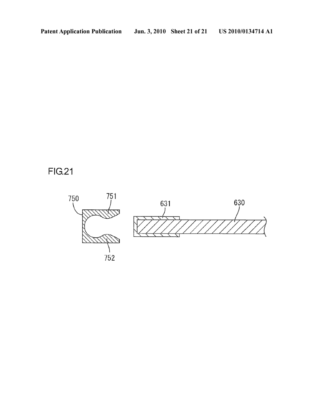LIGHTING DEVICE FOR USE WITH DISPLAY APPARATUS AND DISPLAY APPARATUS - diagram, schematic, and image 22
