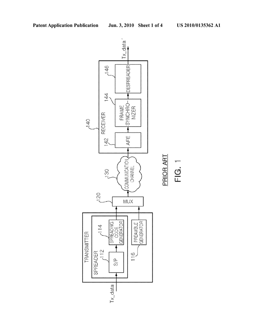 FRAME SYNCHRONIZATION METHOD AND RECEIVER FOR COMMUNICATION MODEM USING THE SAME - diagram, schematic, and image 02