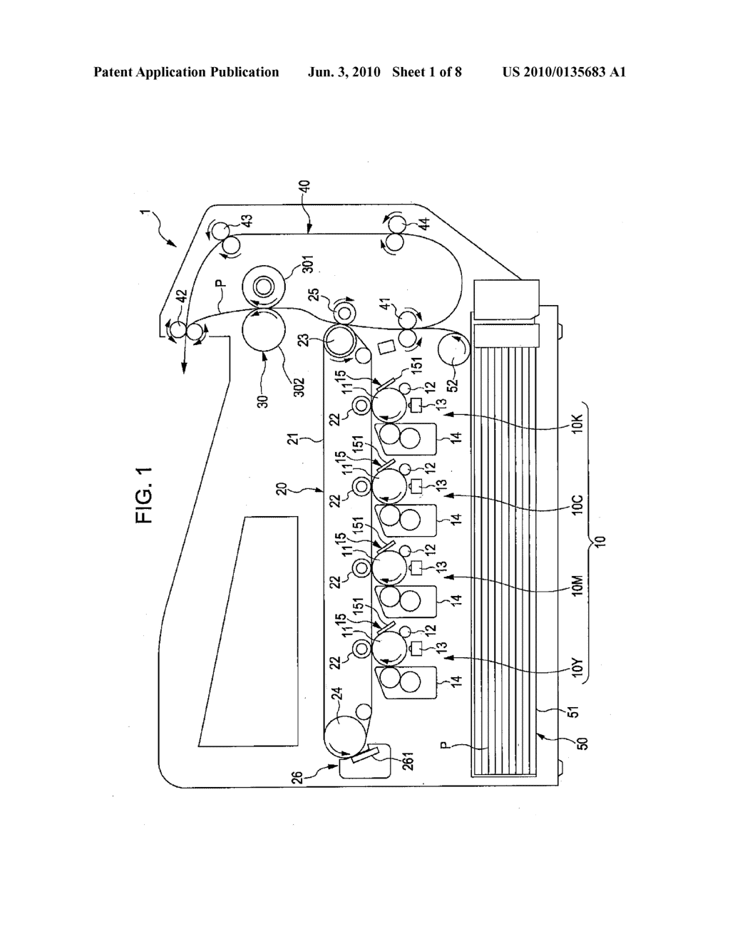 Line Head, Image Forming Apparatus, Image Forming Method - diagram, schematic, and image 02
