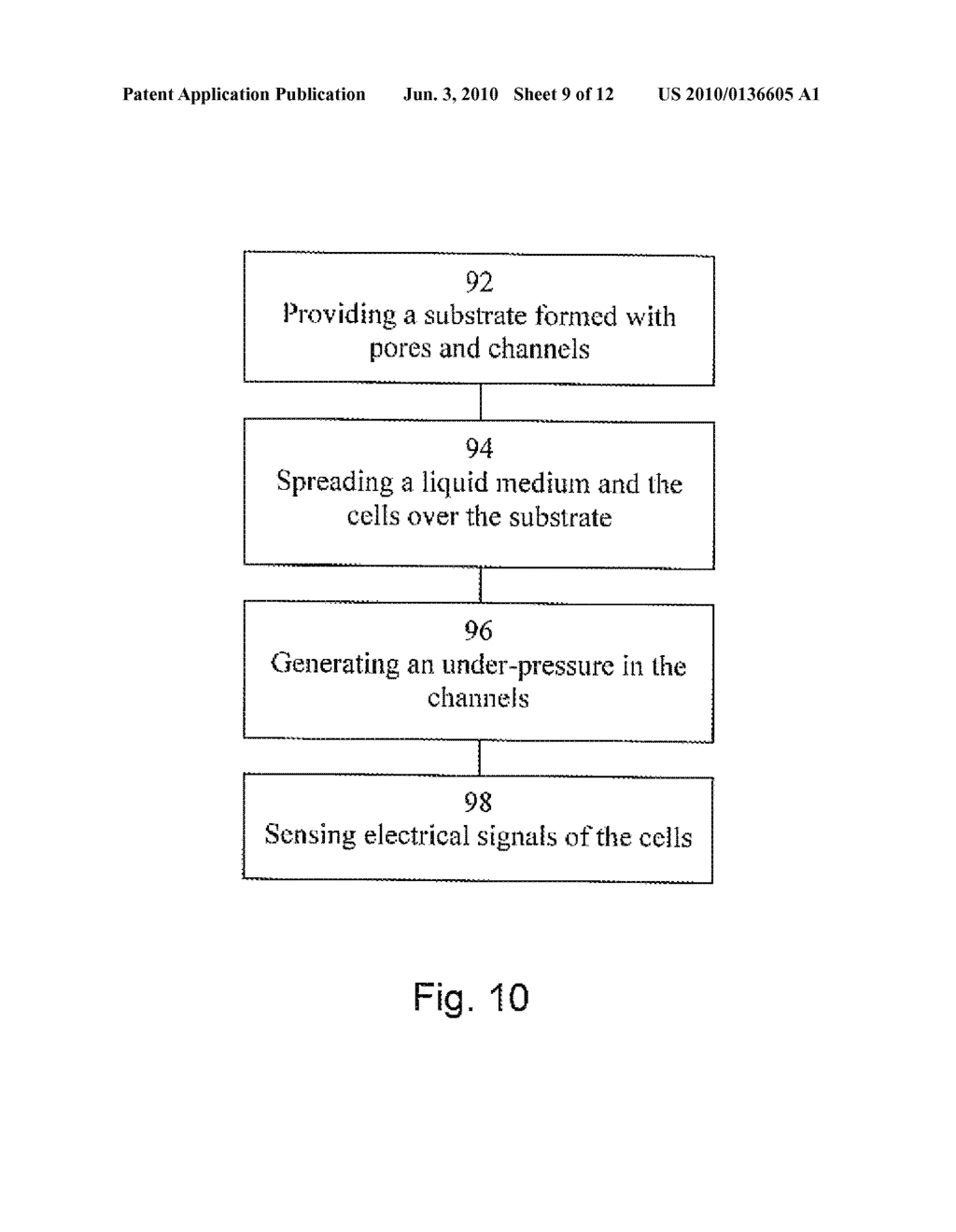 SYSTEM FOR AND METHOD OF POSITIONING CELLS AND DETERMINING CELLULAR ACTIVITY THEREOF - diagram, schematic, and image 10