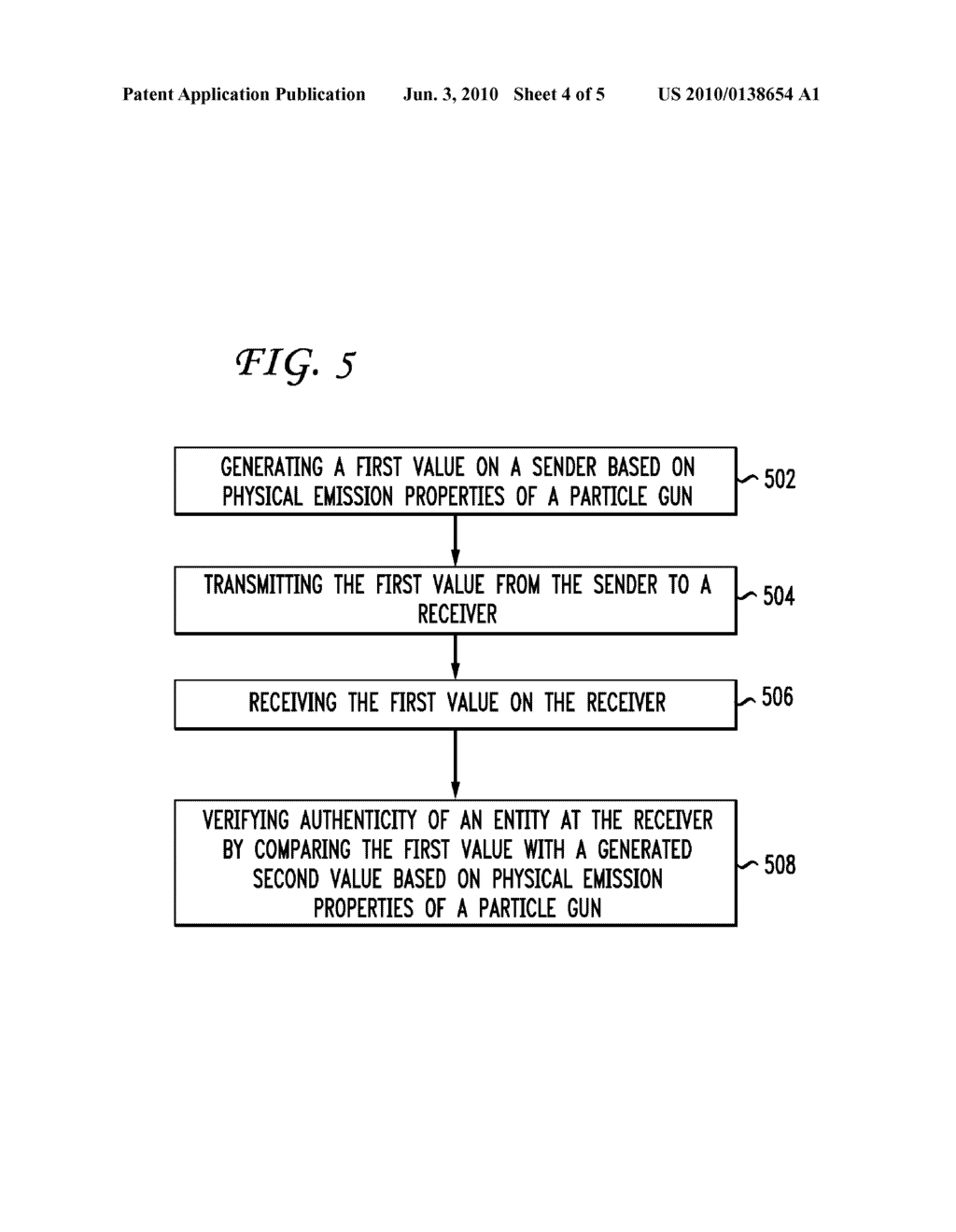 SYSTEM AND METHOD FOR AUTHENTICATION BASED ON PARTICLE GUN EMISSIONS - diagram, schematic, and image 05