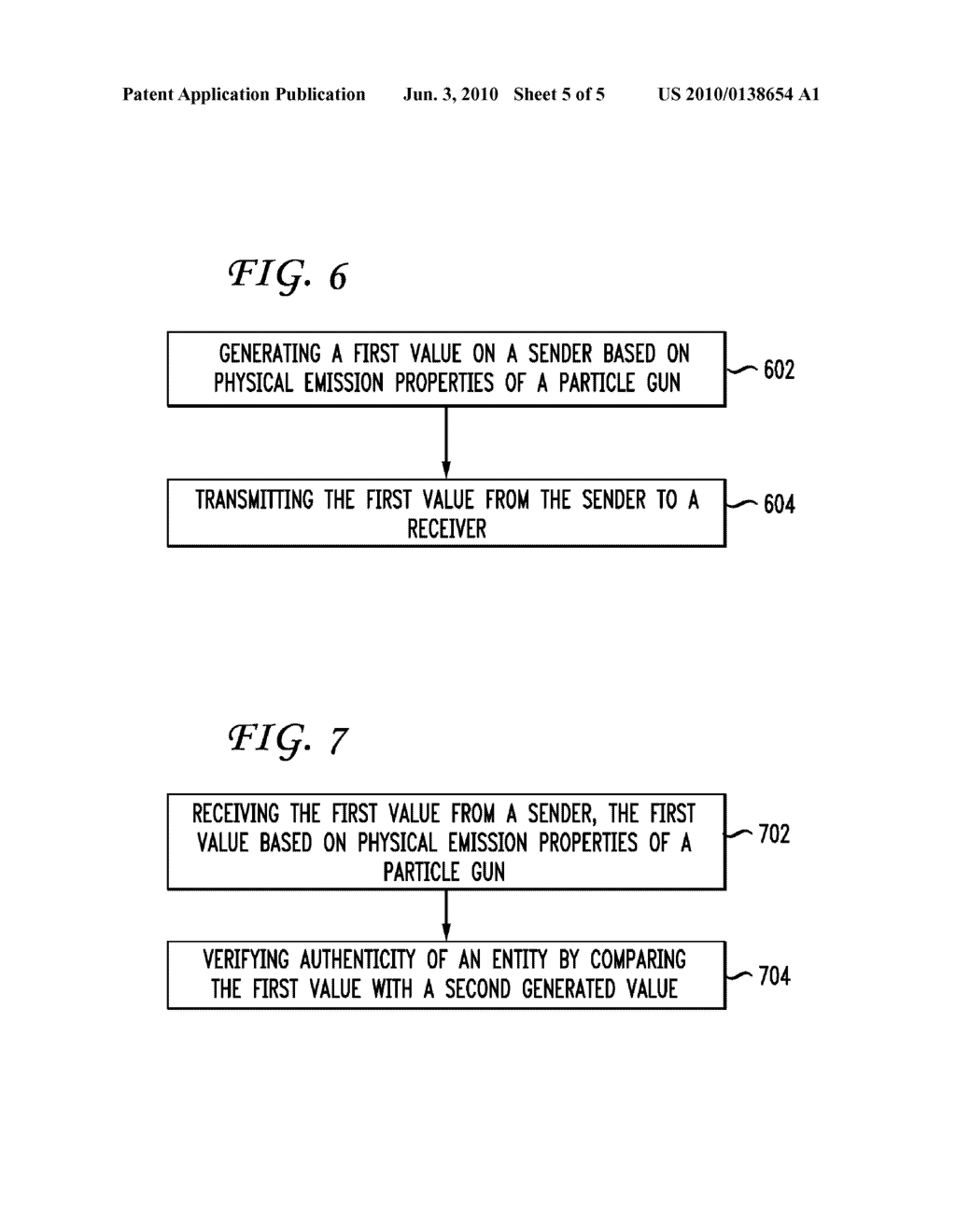 SYSTEM AND METHOD FOR AUTHENTICATION BASED ON PARTICLE GUN EMISSIONS - diagram, schematic, and image 06