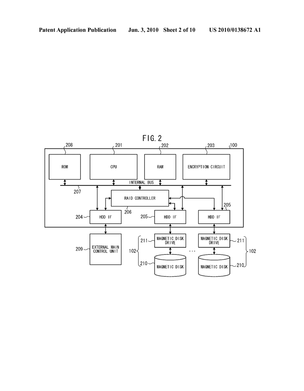 RAID CONTROLLER, STORAGE CONTROL DEVICE, AND STORAGE CONTROL METHOD - diagram, schematic, and image 03
