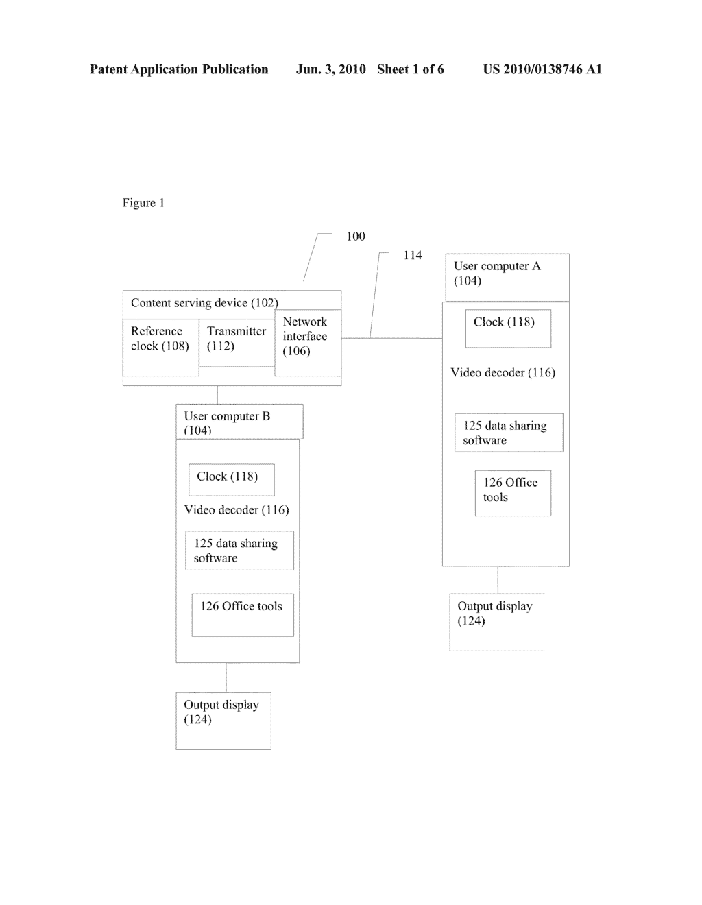 SYSTEM AND METHOD FOR SYNCHRONIZED VIDEO SHARING - diagram, schematic, and image 02