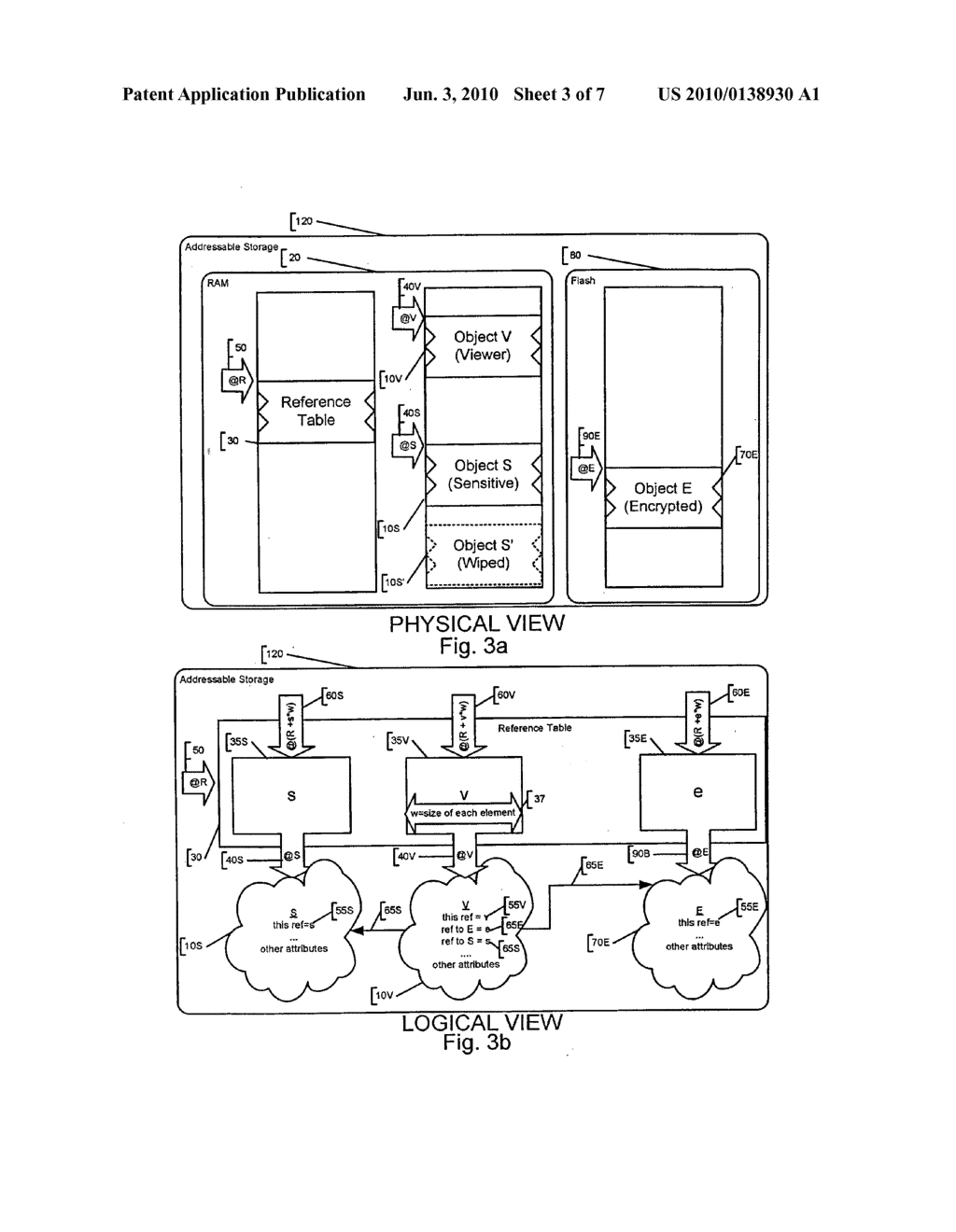 System and Method of Secure Garbage Collection on a Mobile Device - diagram, schematic, and image 04