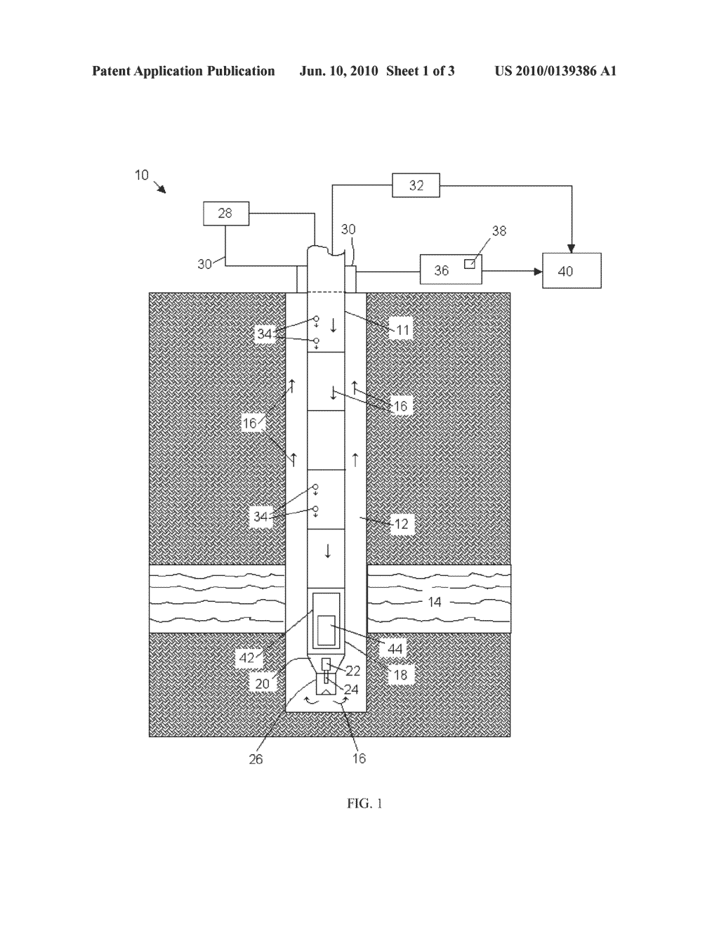 SYSTEM AND METHOD FOR MONITORING VOLUME AND FLUID FLOW OF A WELLBORE - diagram, schematic, and image 02