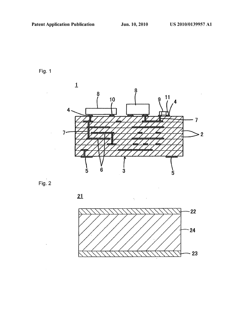 Ceramic composition, method for producing the same, ceramic substrate and method for producing ceramic green layer - diagram, schematic, and image 02