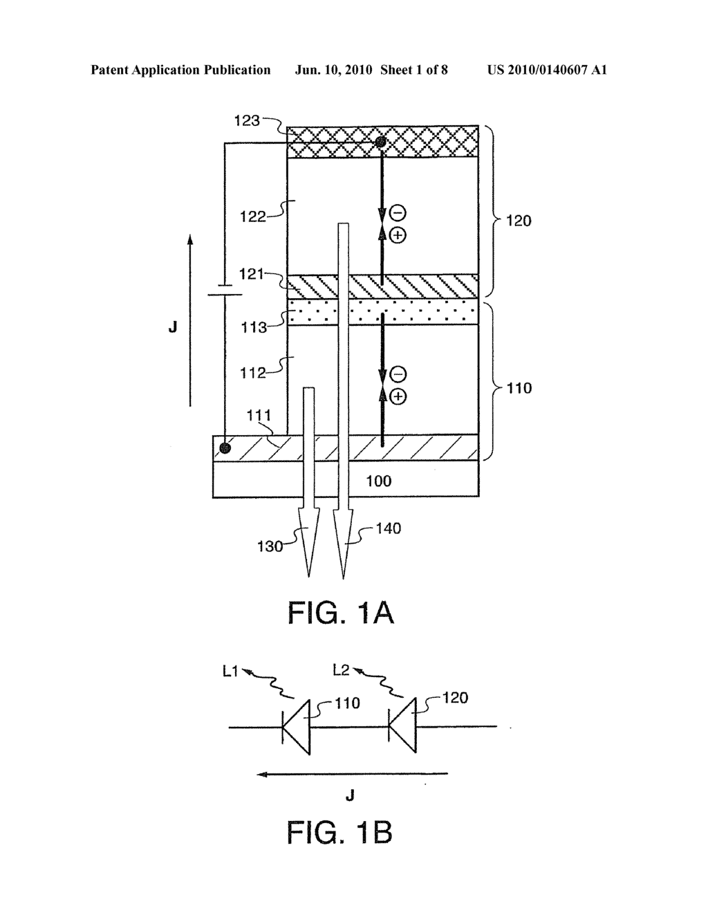 Light Emitting Element and Light Emitting Device Using the Element - diagram, schematic, and image 02