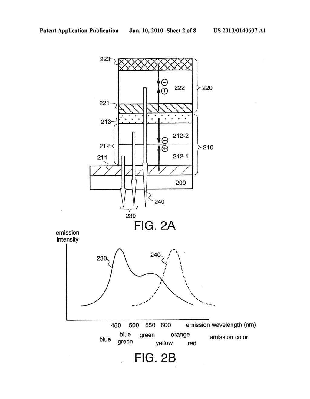 Light Emitting Element and Light Emitting Device Using the Element - diagram, schematic, and image 03