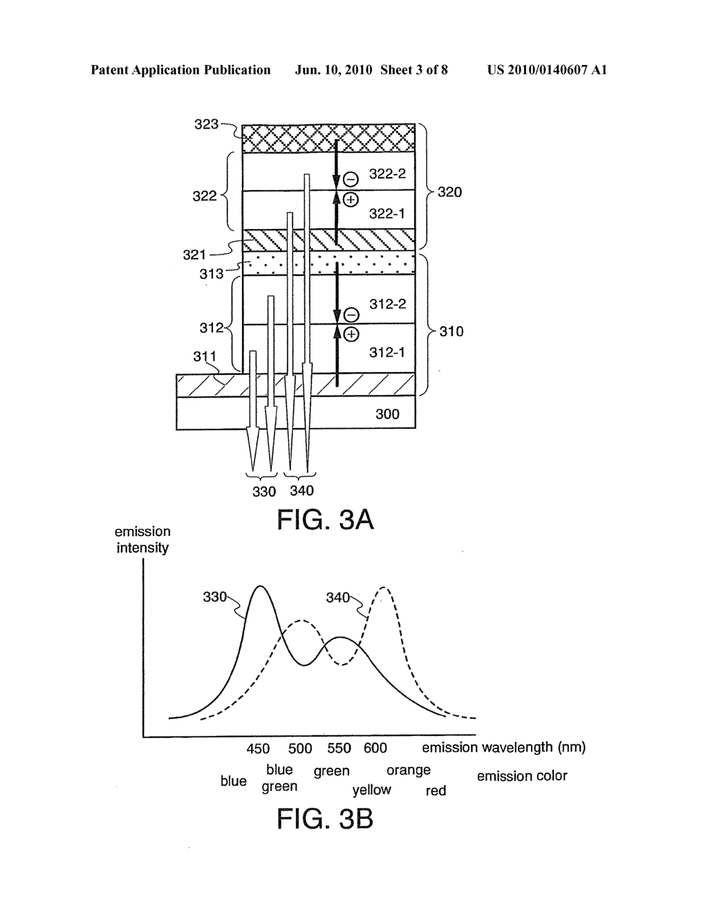 Light Emitting Element and Light Emitting Device Using the Element - diagram, schematic, and image 04