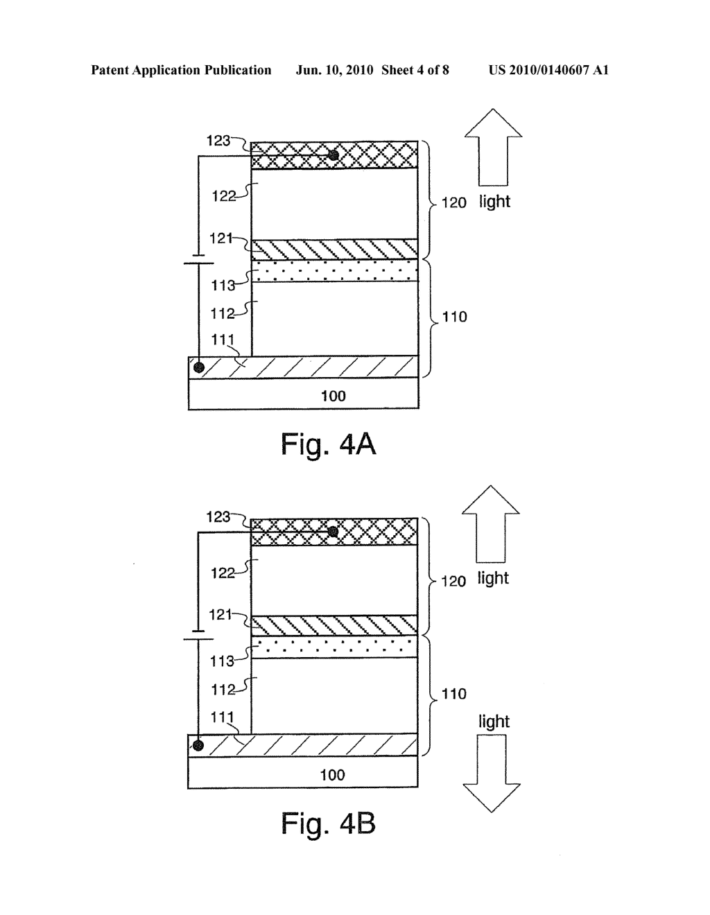 Light Emitting Element and Light Emitting Device Using the Element - diagram, schematic, and image 05