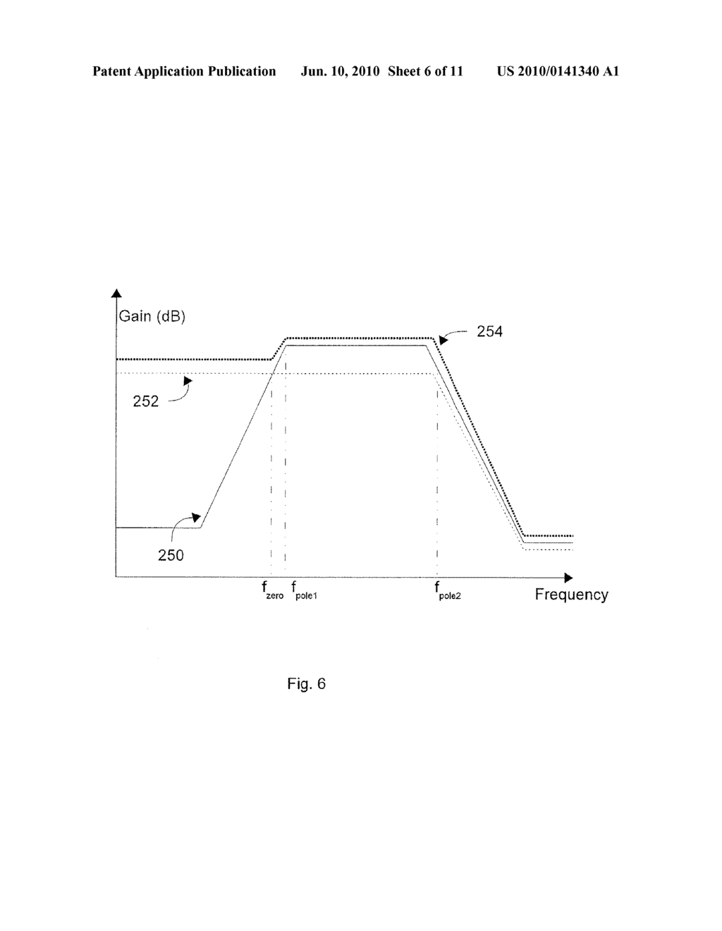 METHOD AND APPARATUS FOR A HIGH BANDWIDTH AMPLIFIER WITH WIDE BAND PEAKING - diagram, schematic, and image 07