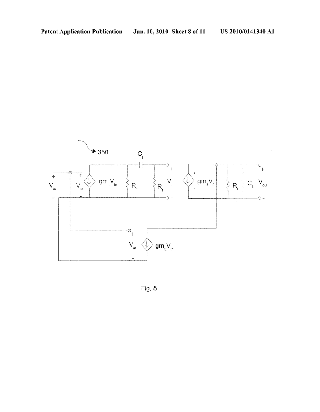 METHOD AND APPARATUS FOR A HIGH BANDWIDTH AMPLIFIER WITH WIDE BAND PEAKING - diagram, schematic, and image 09