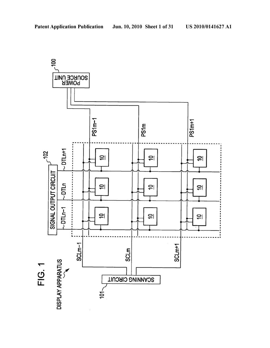 Method of driving organic electroluminescence display apparatus - diagram, schematic, and image 02