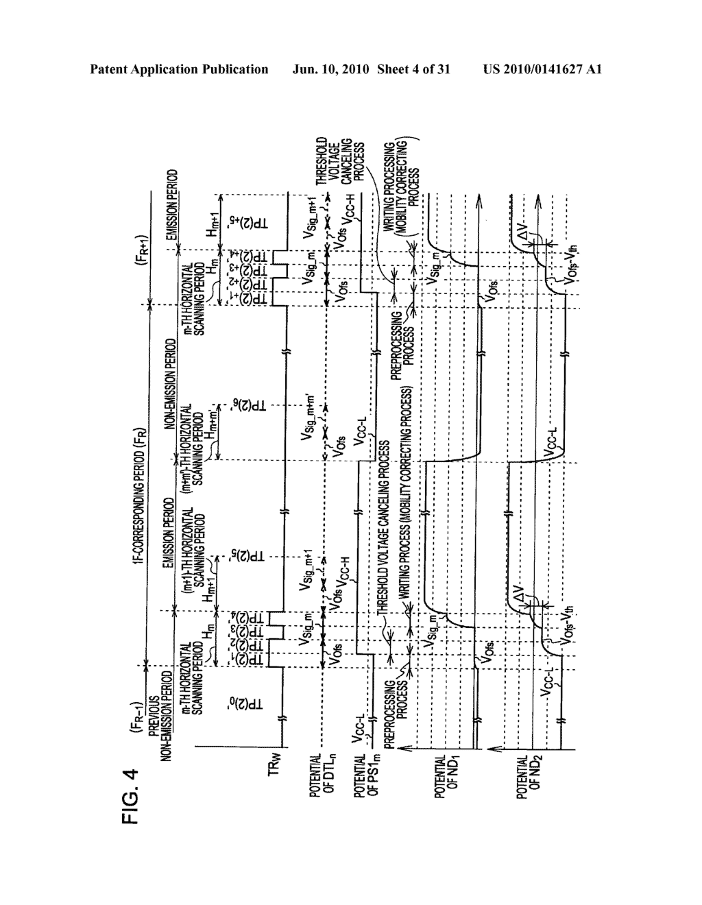 Method of driving organic electroluminescence display apparatus - diagram, schematic, and image 05