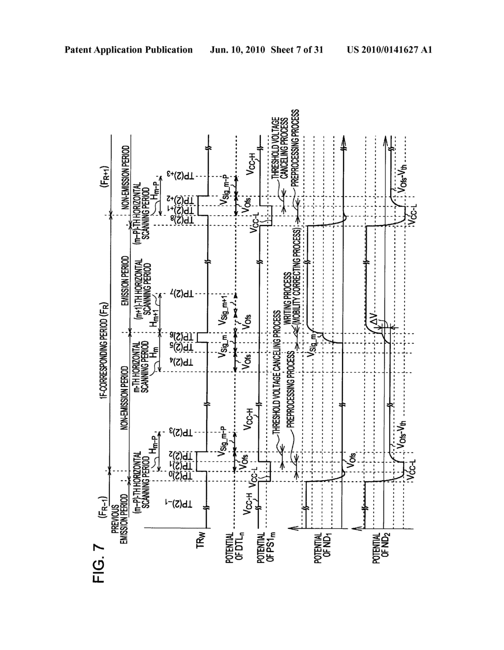 Method of driving organic electroluminescence display apparatus - diagram, schematic, and image 08