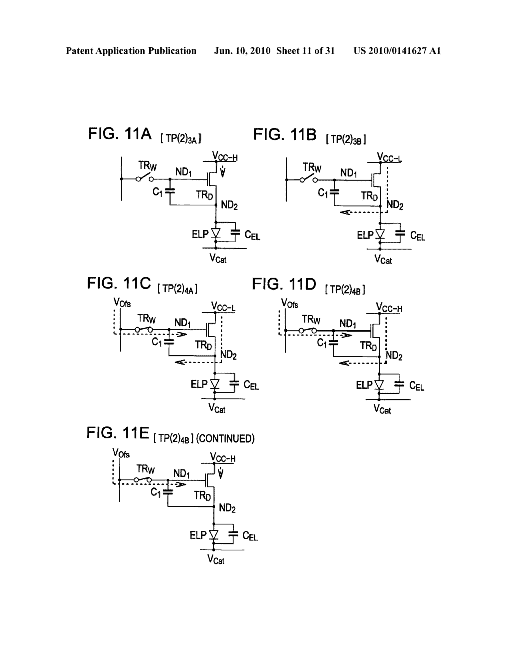 Method of driving organic electroluminescence display apparatus - diagram, schematic, and image 12