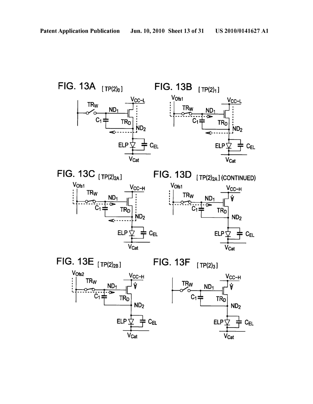 Method of driving organic electroluminescence display apparatus - diagram, schematic, and image 14
