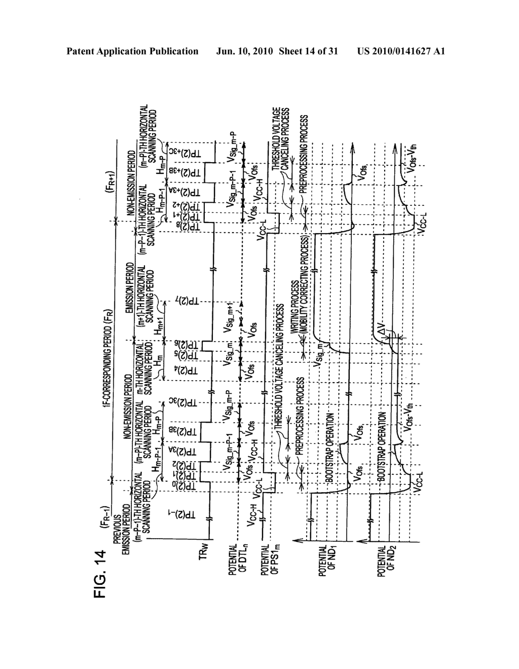 Method of driving organic electroluminescence display apparatus - diagram, schematic, and image 15