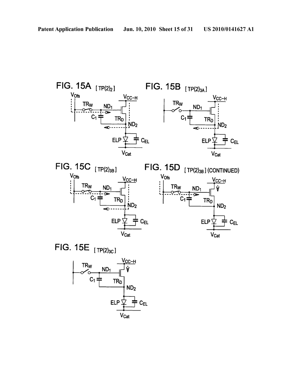 Method of driving organic electroluminescence display apparatus - diagram, schematic, and image 16