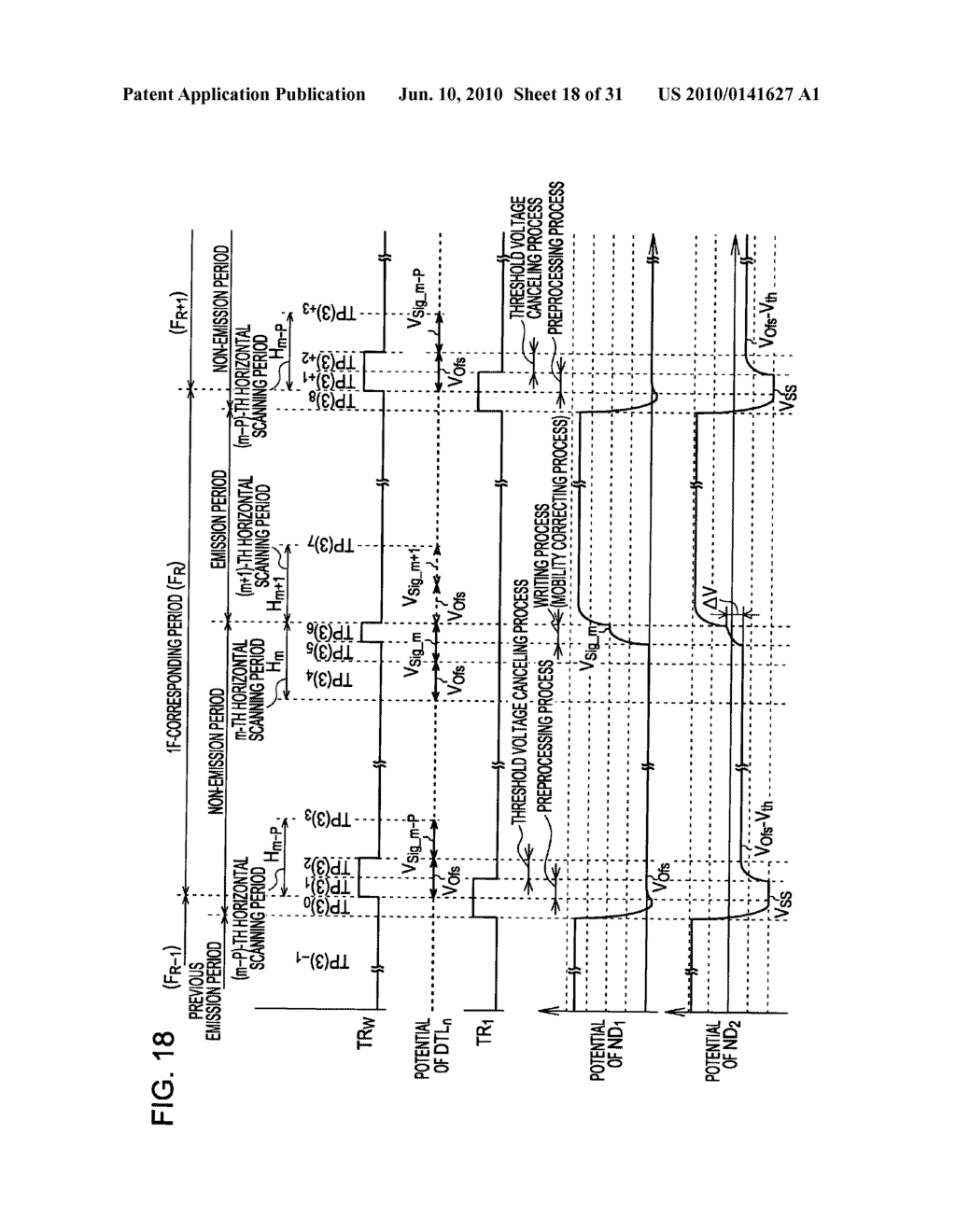 Method of driving organic electroluminescence display apparatus - diagram, schematic, and image 19