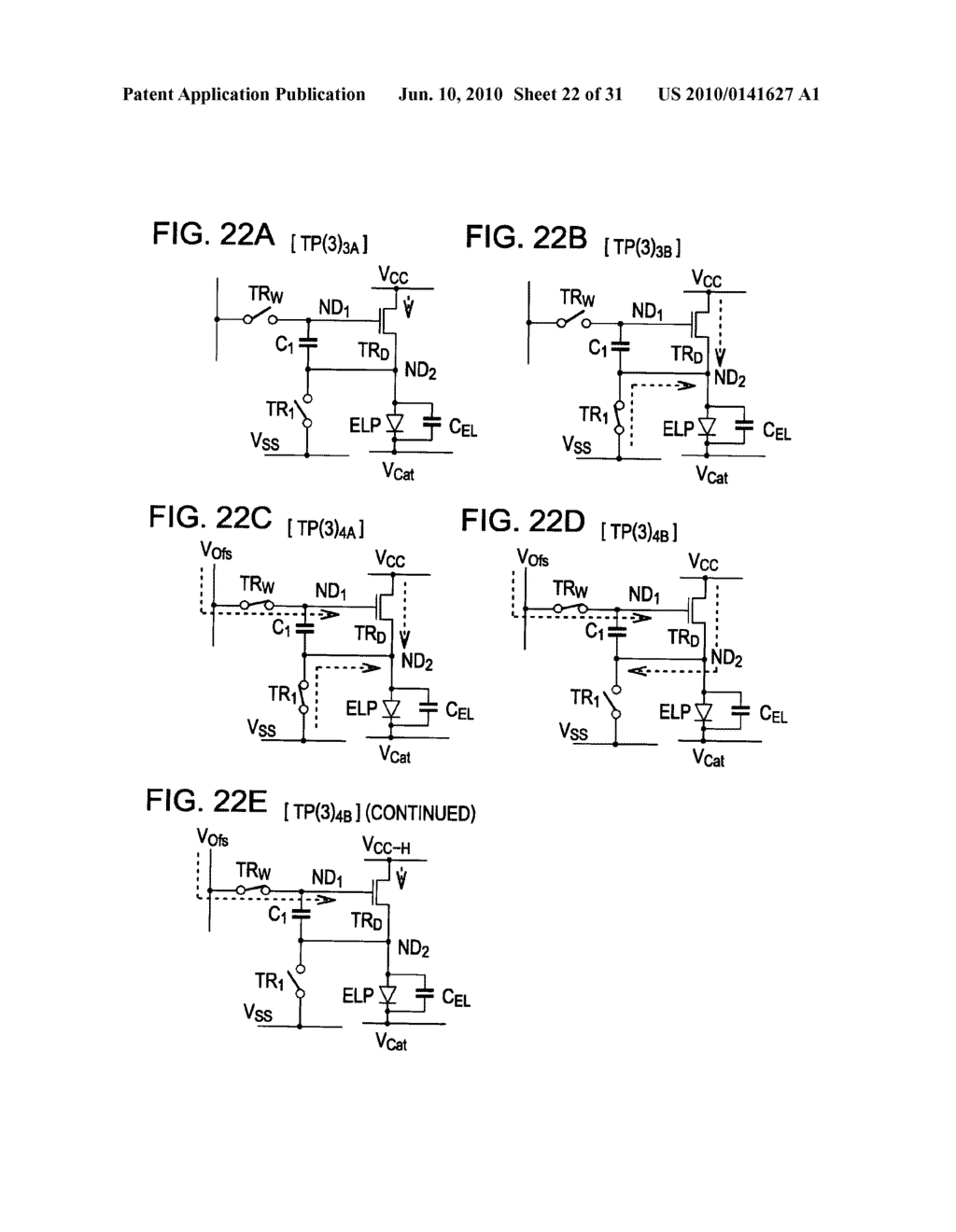 Method of driving organic electroluminescence display apparatus - diagram, schematic, and image 23