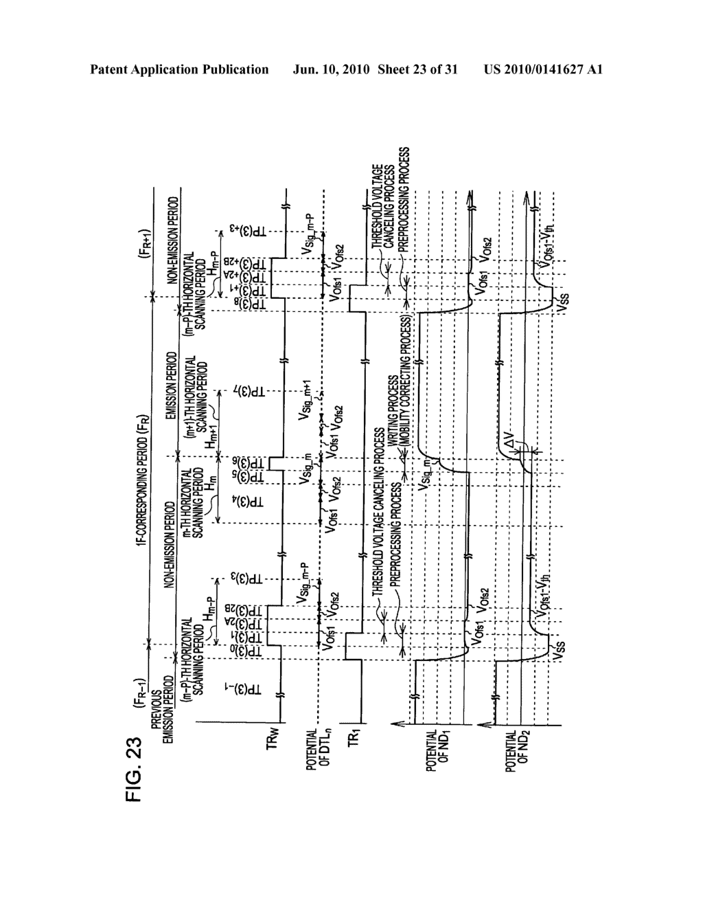 Method of driving organic electroluminescence display apparatus - diagram, schematic, and image 24