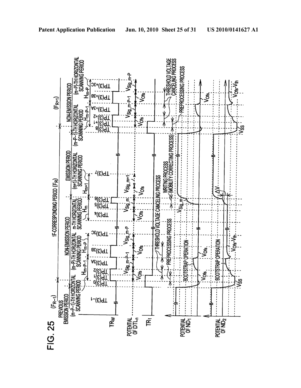 Method of driving organic electroluminescence display apparatus - diagram, schematic, and image 26