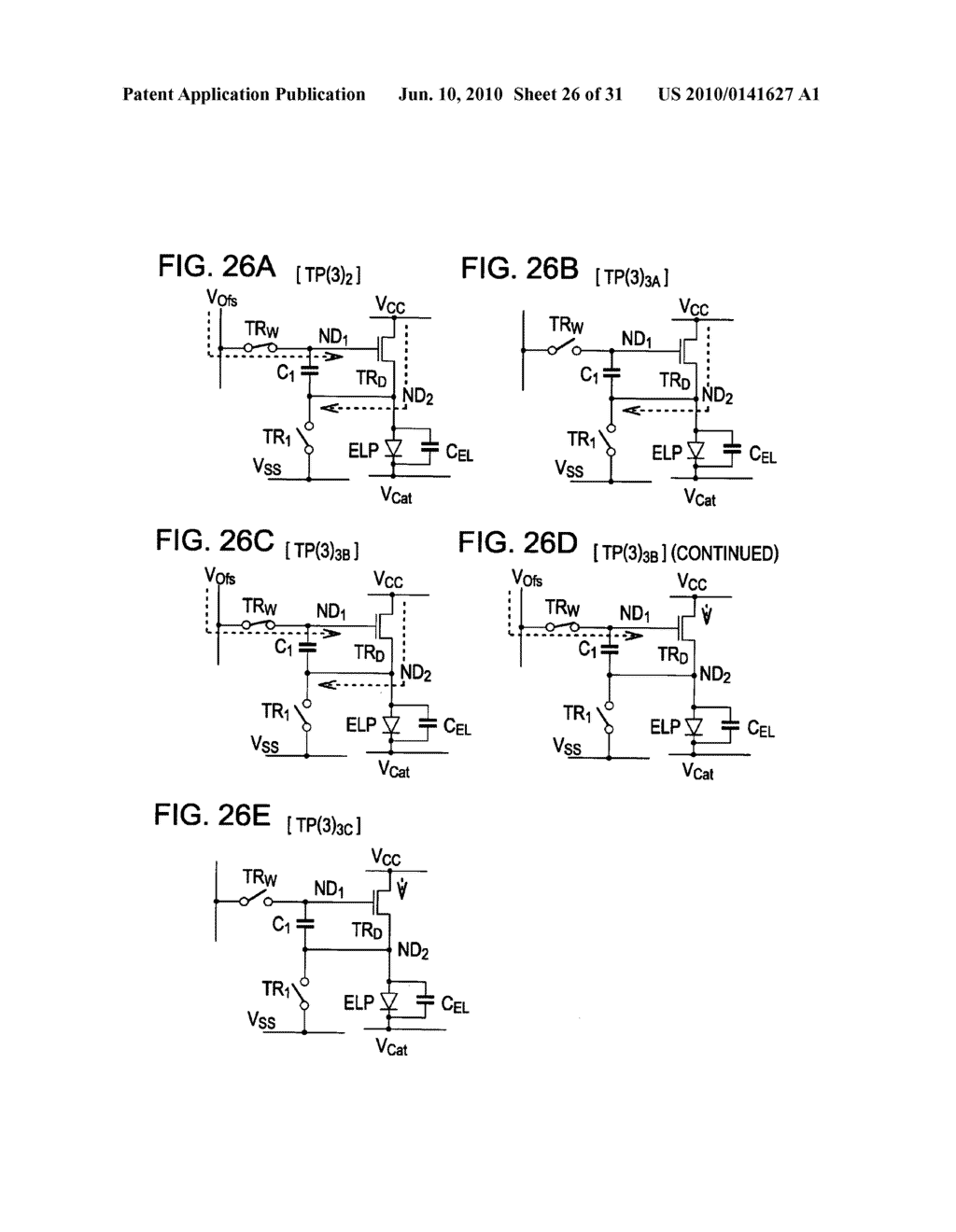 Method of driving organic electroluminescence display apparatus - diagram, schematic, and image 27