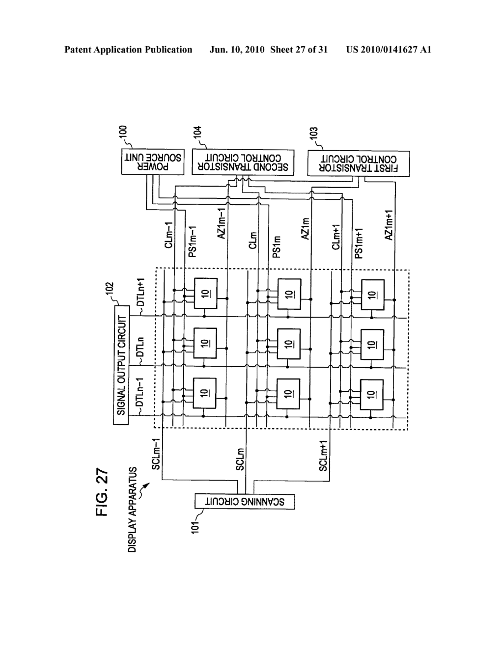 Method of driving organic electroluminescence display apparatus - diagram, schematic, and image 28