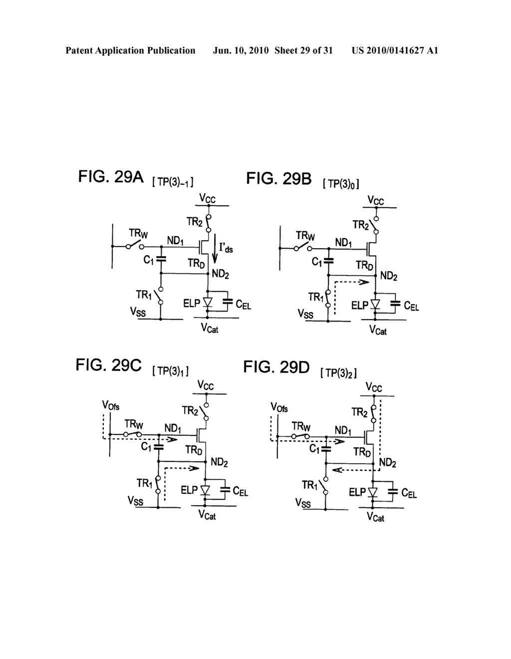 Method of driving organic electroluminescence display apparatus - diagram, schematic, and image 30