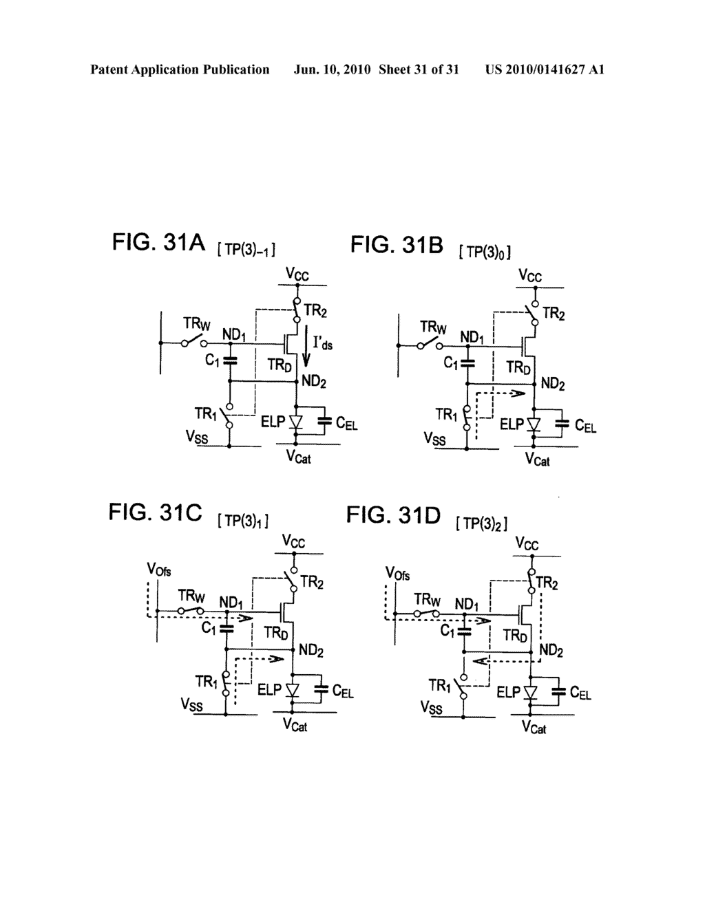 Method of driving organic electroluminescence display apparatus - diagram, schematic, and image 32