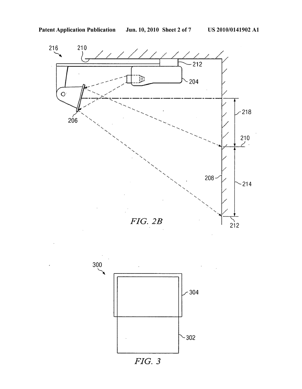 SHORT THROW PROJECTION LENS WITH A DOME - diagram, schematic, and image 03
