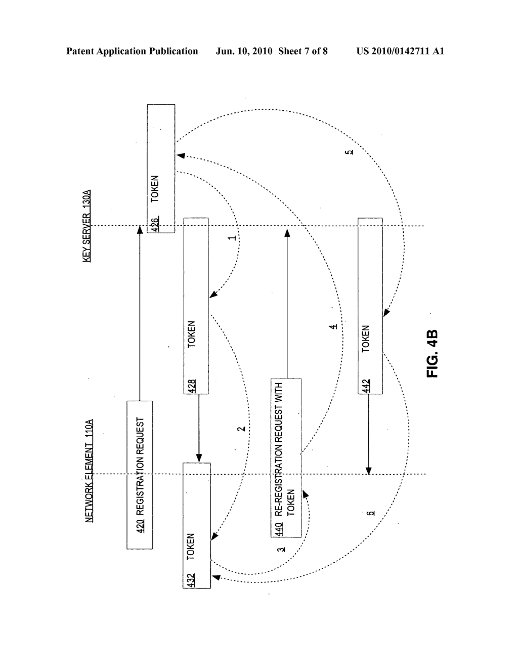GROUP KEY MANAGEMENT RE-REGISTRATION METHOD - diagram, schematic, and image 08