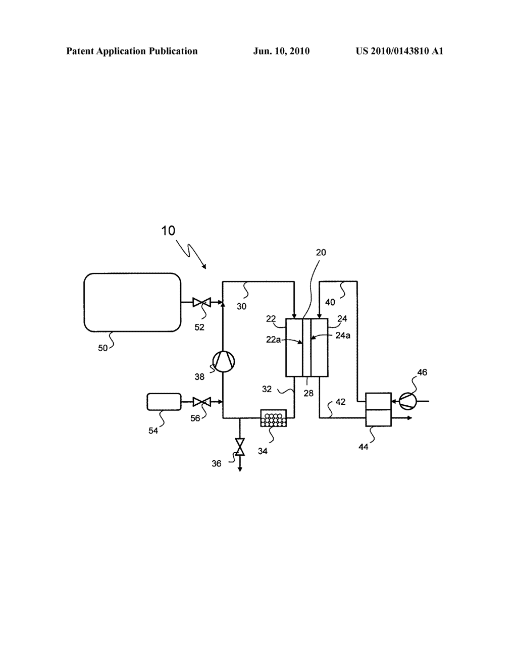 Fuel Cell System and Method of Operating the Same - diagram, schematic, and image 02
