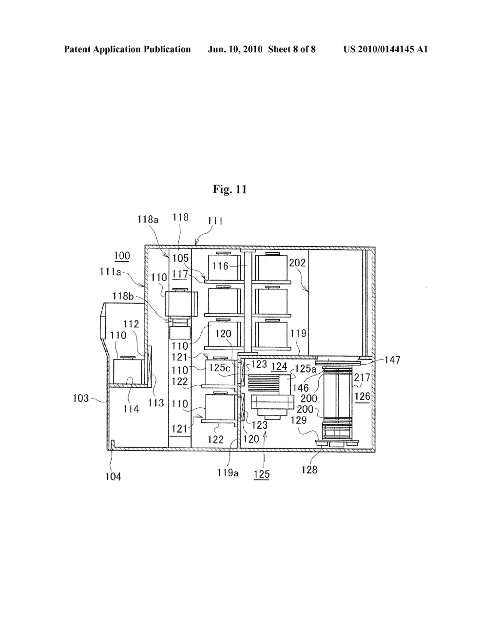 SUBSTRATE PROCESSING APPARATUS AND METHOD OF MANUFACTURING SEMICONDUCTOR DEVICE - diagram, schematic, and image 09