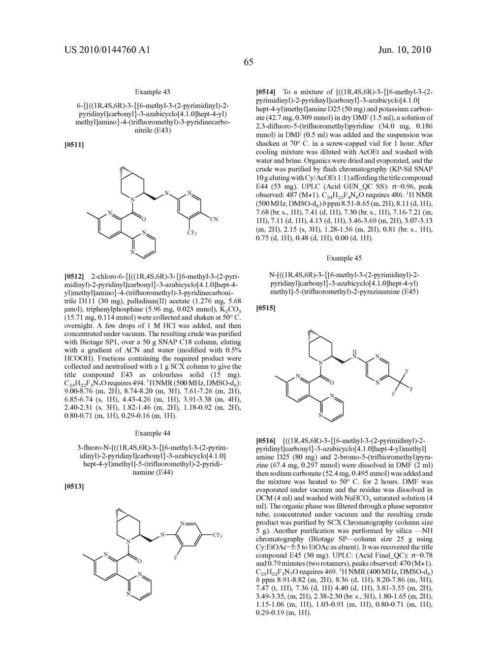 NOVEL COMPOUNDS - diagram, schematic, and image 66