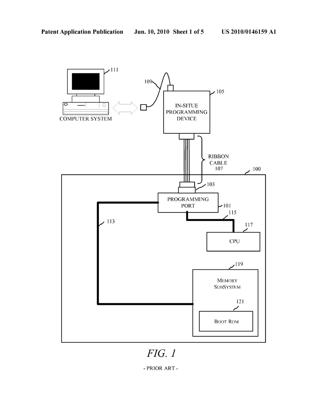 Memory Flash Apparatus and Method For Providing Device Upgrades Over A Standard Interface - diagram, schematic, and image 02