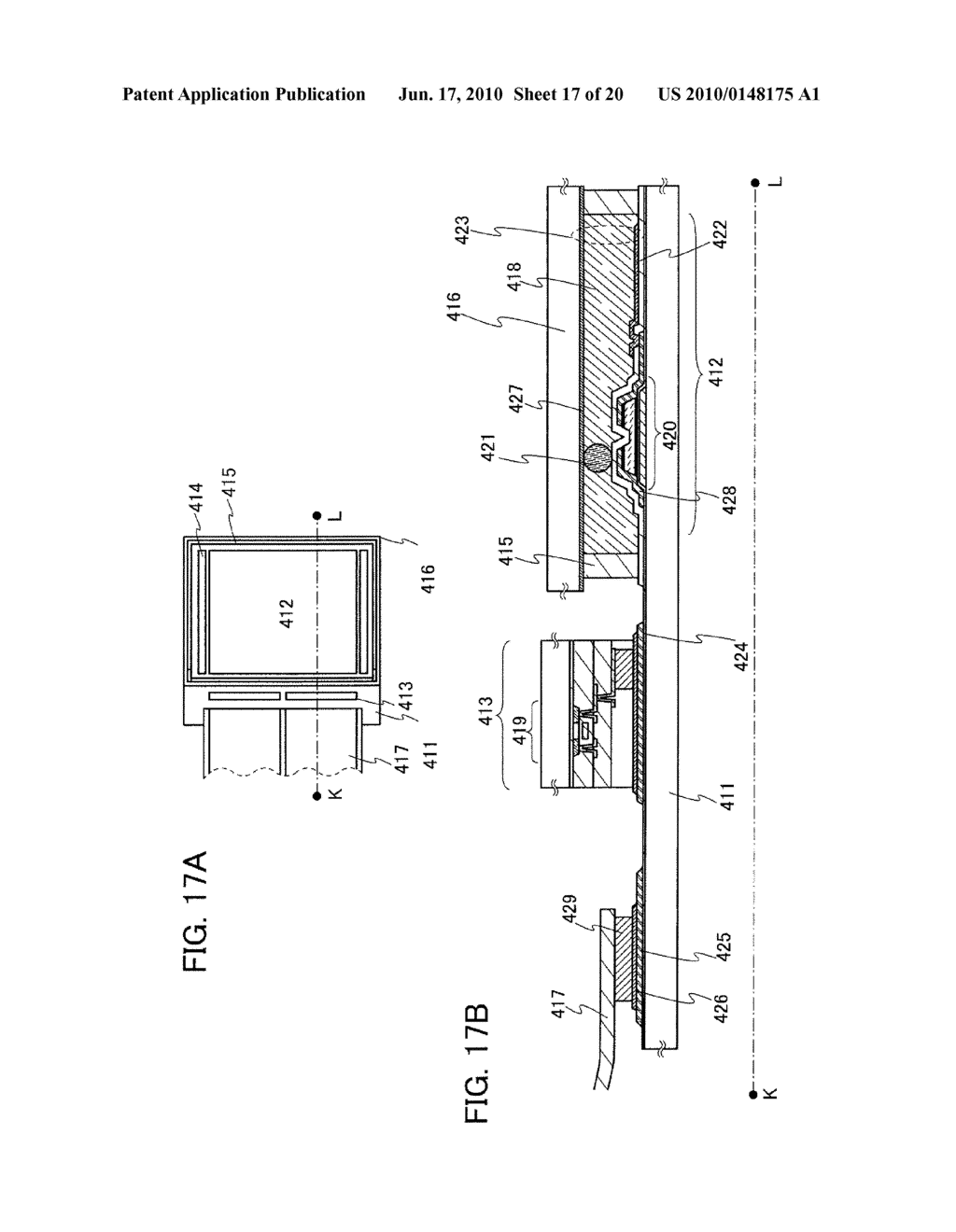THIN FILM TRANSISTOR AND DISPLAY DEVICE - diagram, schematic, and image 18