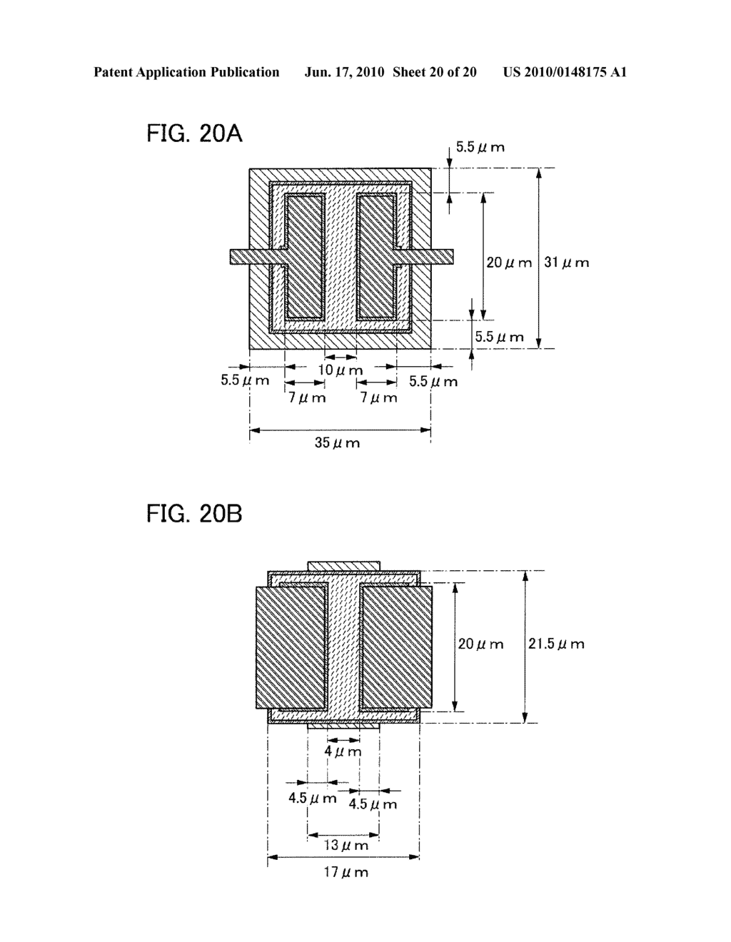THIN FILM TRANSISTOR AND DISPLAY DEVICE - diagram, schematic, and image 21